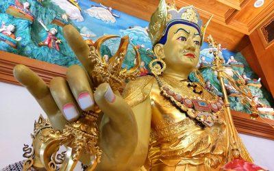 Celebración del día de Padmasambhava